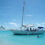 Sailing Like Johnny Depp in Turks and Caicos