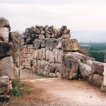 Daft Tourists in Search of Ruins in Tiryns, Greece