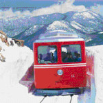 Reaching for the Clouds on the Pikes Peak Cog Railway
