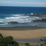 Holidaying at Hole in the Wall, Transkei, South Africa