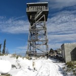 Calling a Forest Fire Tower Home