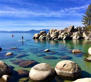 Lake Tahoe Sand Harbor BY KOMPANIK